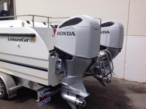 2019 Honda BF200/225/250 vented cowl cover.