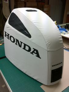 Honda BF250 vented cowl cover.