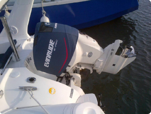 200 ETec Splash vented outboard cover.
