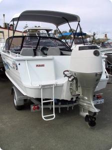 Honda BF90 Vented Outboard Splash Cover