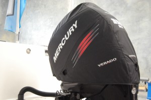 Mercury 350SCi official vented outboard cowling cover.