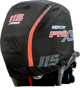 Mercury 115hp Pro XS official vented outboard cowling cover.