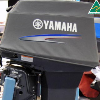 Yamaha 50hp, 2 stroke Official vented outboard Splash cover.