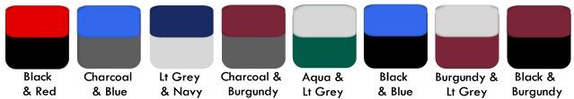 Colour-Swatches 2 tone ROW