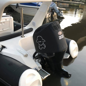 Suzuki DF200 Vented outboard Splash cover.