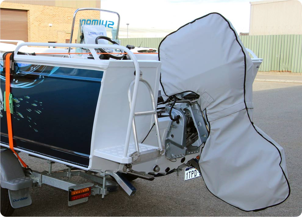 Outboard covers accessories custom made outboard covers for Yamaha boat cover