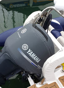 Outboard covers accessories customer testimonials for Yamaha boat motor covers