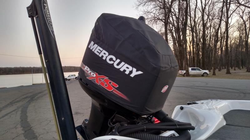 Outboard Motor Covers : Mercury outboard covers vented cowling protection