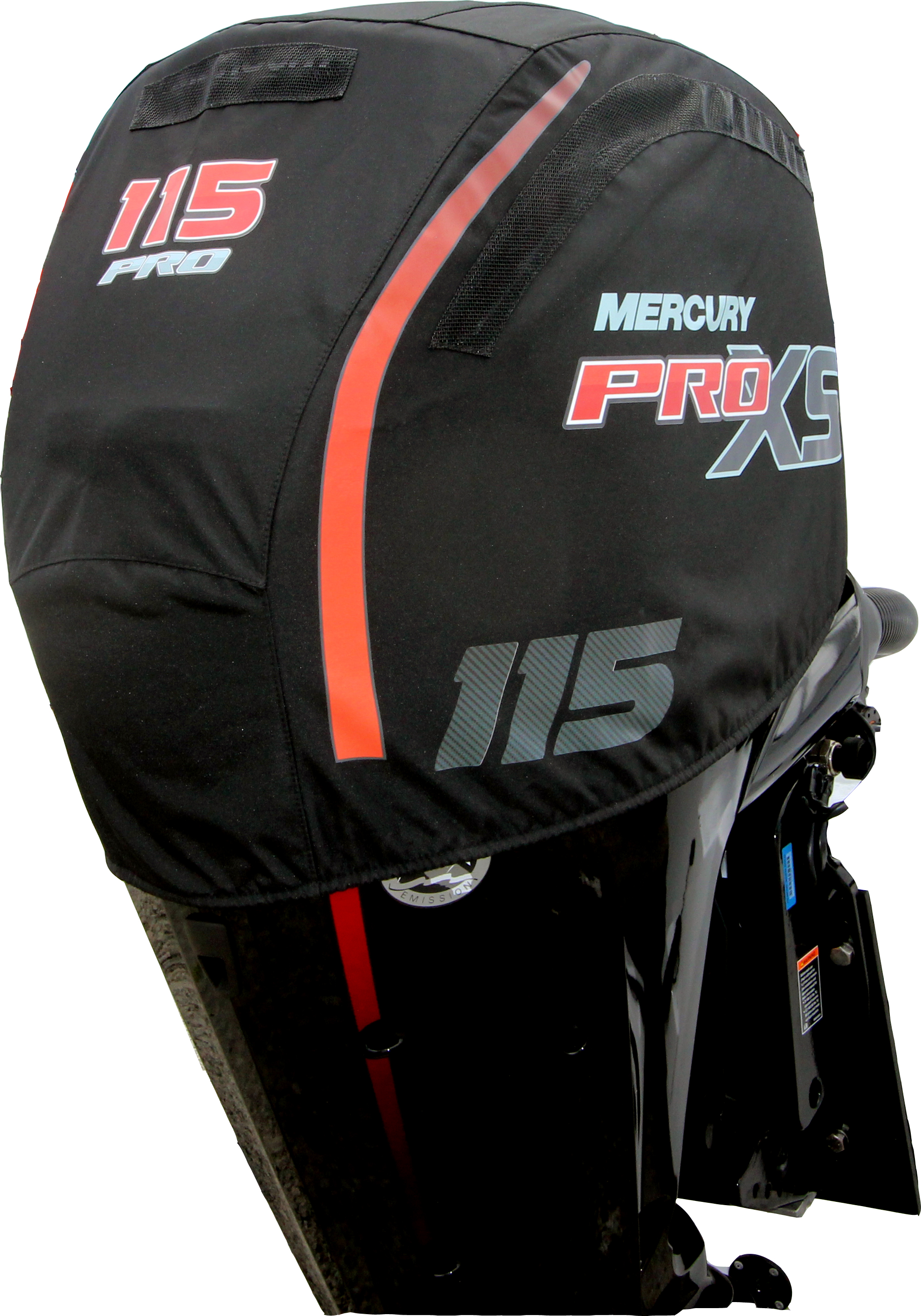 Pro Xs on Mercury Outboard Cover