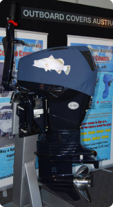 Evinrude ETec vented outboard cover #AustralianMade