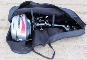 Outboard motor carry bag