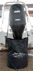 Flush Mate - outboard motor flushing bag