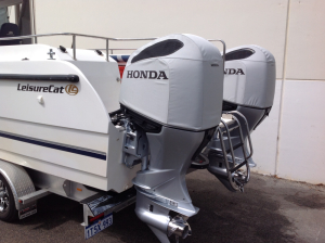 2019 Honda BF200/225/250 vented outboard Splash cover.