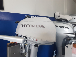 Honda BF4/5/6 vented outboard Splash cover.