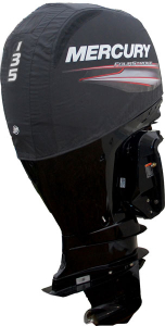 Mercury 135EFI official vented outboard cowling cover.