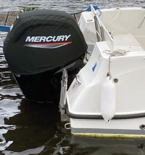 Mercury 115hp (2.1L) vented Splash cover.