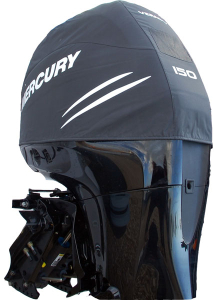 Mercury L4 supercharged Verado official vented outboard cowling cover.