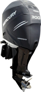 Mercury L6 supercharged Verado official vented outboard cowling cover.