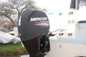 Mercury 150EFi vented Splash cowl covers.