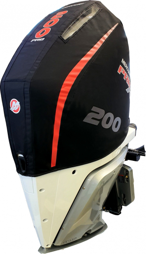 Mercury 200hp ProXS V8 vented Splash outboard cover