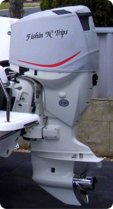 ETec 175 Vented outboard Splash cover. #AustralianMade
