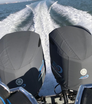 Yamaha F300 Vented outboard cover #AustralianMade