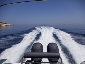 Yamaha F100 outboard covers pair in Greece