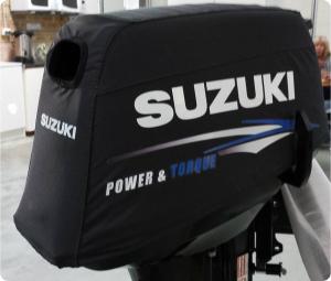 Suzuki DT15 vented outboard Splash cover.