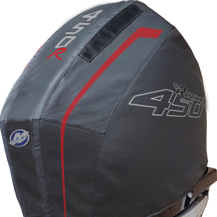 Mercury 450R vented Splash outboard cover