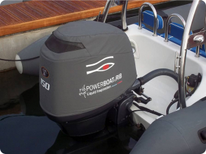 Yamaha F150 Vented outboard Splash cover.