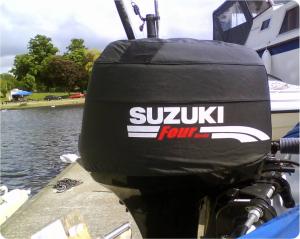 Suzuki DF30 vented outboard Splash cover.