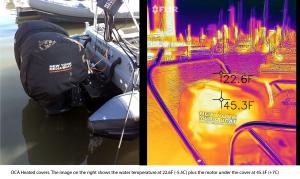 Honda heated outboard cover