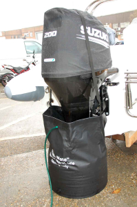 Flush Mate - outboard engine flushing bag