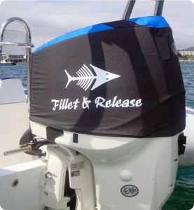 ETec 175hp Vented outboard Splash cover.