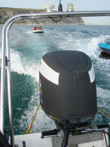 Yamaha 200HPDi Vented outboard Splash cover.