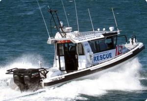 Suzuki DF300 Rescue vented outboard Splash cover.