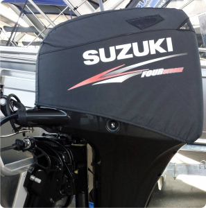 Suzuki DF70A vented outboard Splash cover.