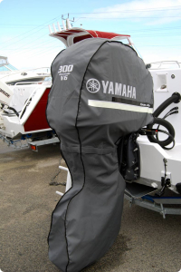 Yamaha F300B storage and towing cover