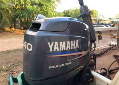 Yamaha F40 Vented outboard cover