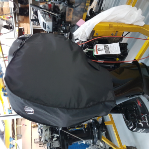 Mercury heated outboard cover