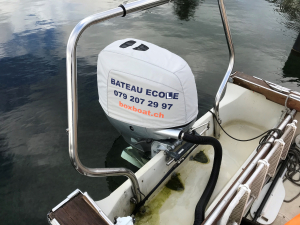 Honda BF225 Vented Outboard Splash Cover