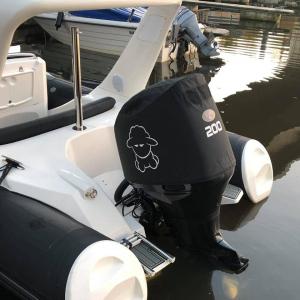 Suzuki DF200 Vented outboard Splash cover.