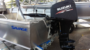 Suzuki DF50A Official vented outboard Splash cover.