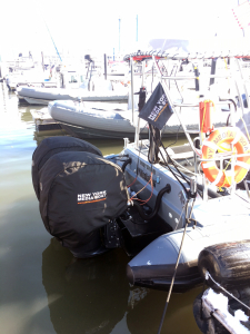 Honda heated outboard cover