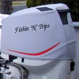 ETec 175 Vented outboard Splash cover.