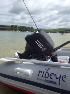 Yamaha F15C Vented outboard Splash cover.