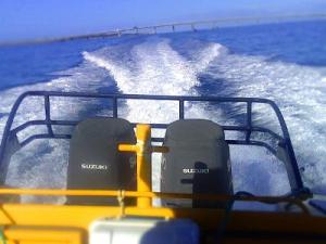DF300 Suzuki Vented outboard Splash cover.