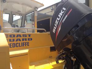 Suzuki DF300 Vented outboard Splash cover.