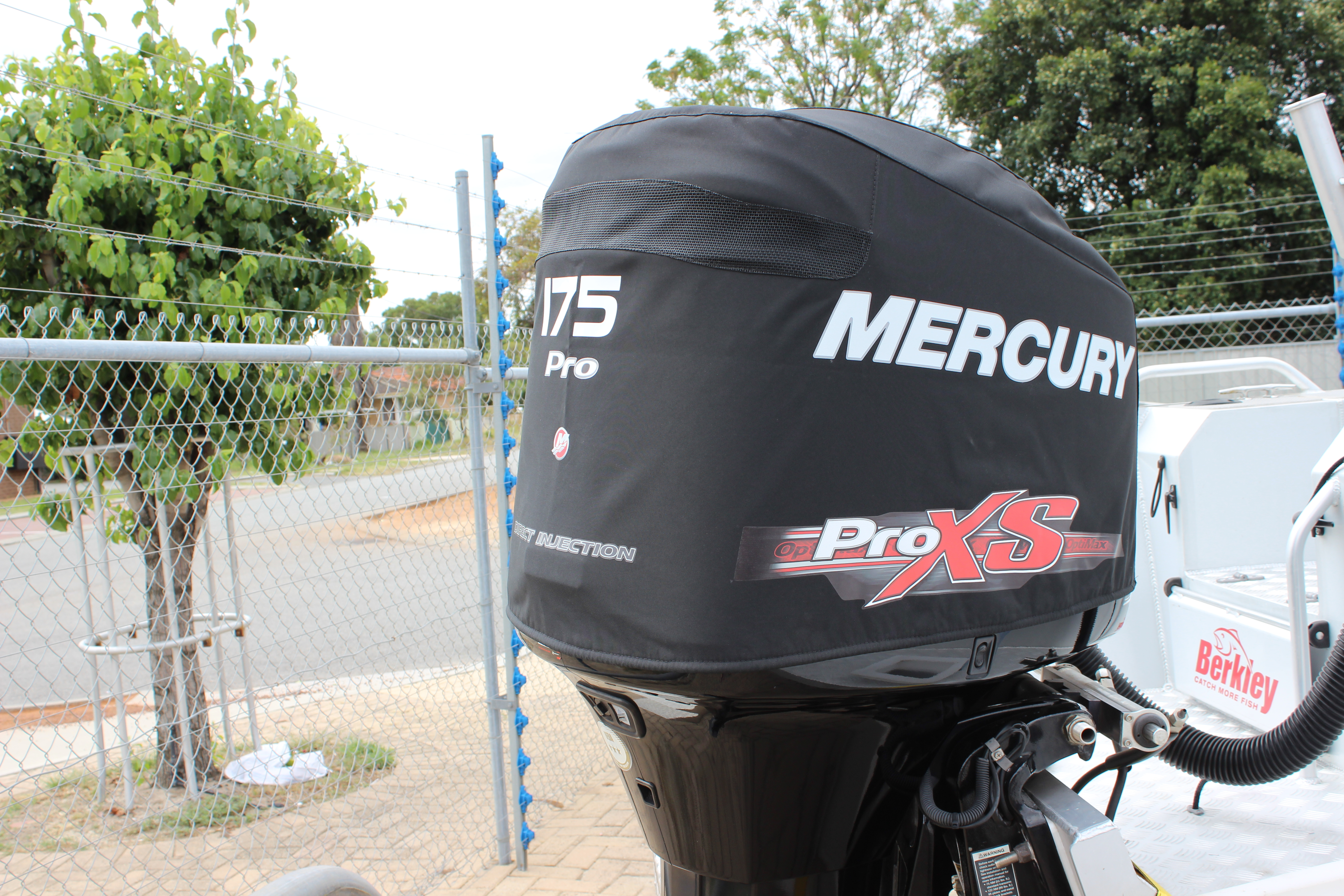 Mercury Outboard Covers Vented Cowling Protection