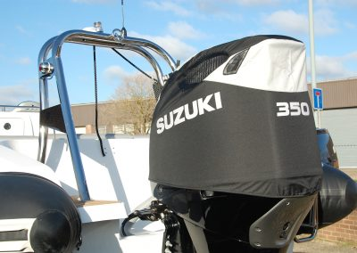 Suzuki DF350 Vented outboard cover